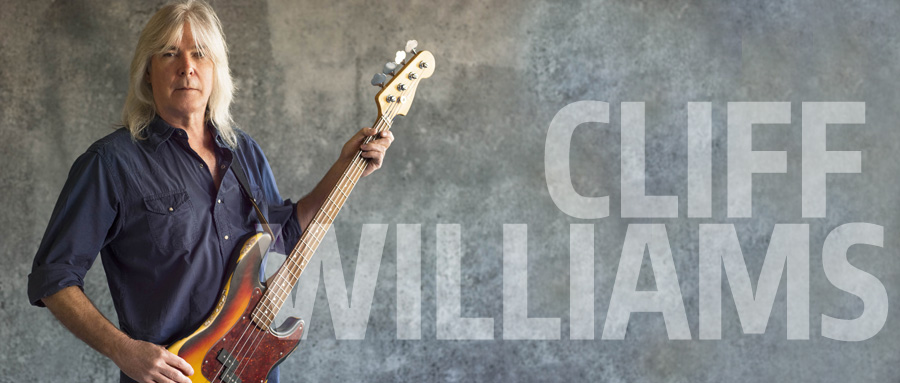 Bass Professor 1/2015 - Ausgabe 78, Cliff Williams